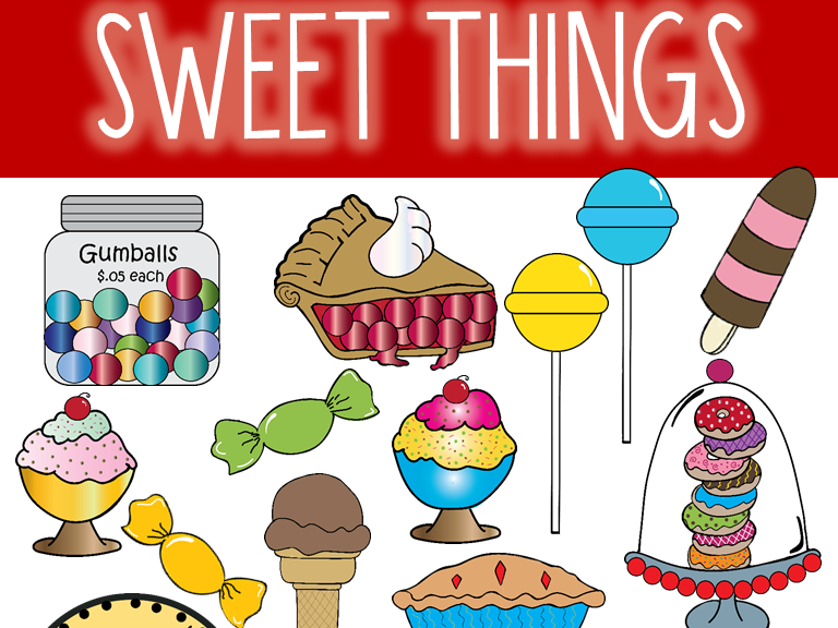 Sweet Things Clip Art