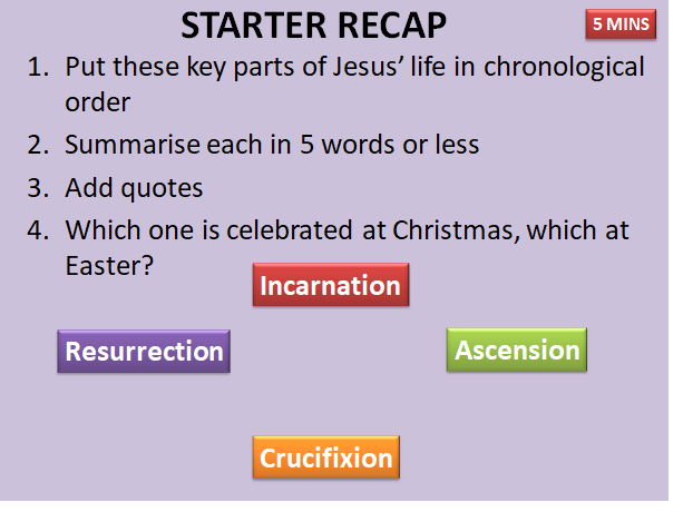 AQA RELIGIOUS STUDIES:  CHRISTIAN PRACTICES:  FESTIVALS (CHRISTMAS AND EASTER)