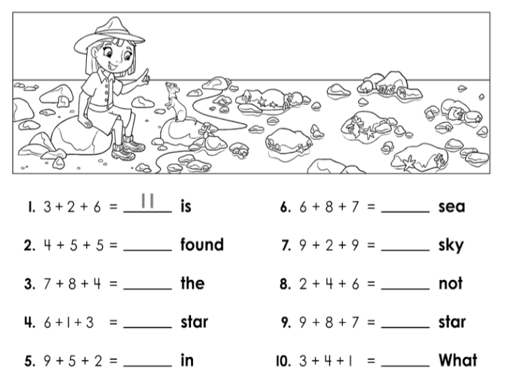 Summer Practice Packet: 2nd Grade