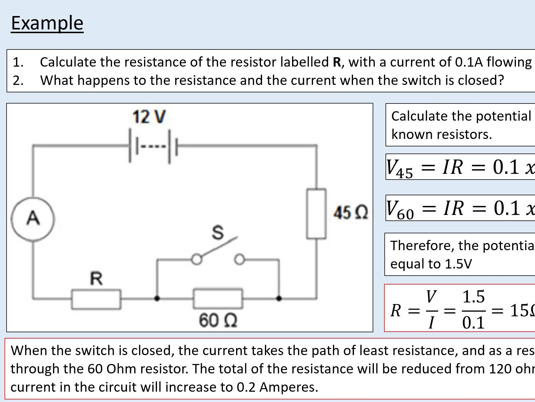 (Chapter 12 BUNDLE) A level Physics - Electricity - Electric current