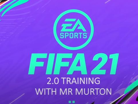 KEEP FIT: Fifa 21 Fitness Interactive Training with Mr Murton