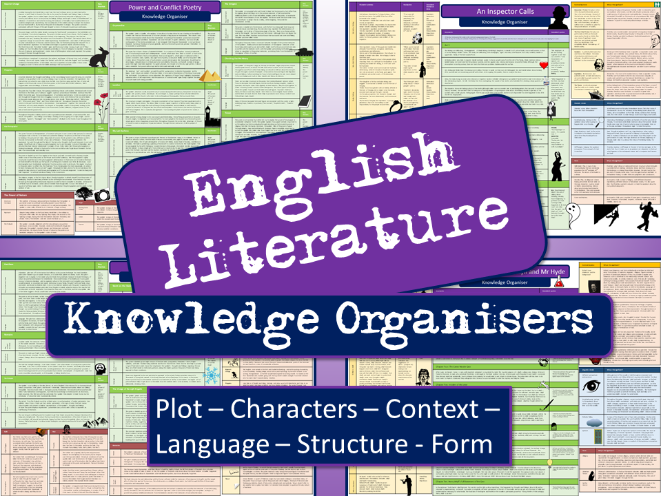 English Literature Knowledge Organisers