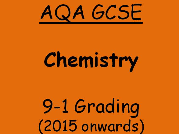 AQA GCSE C5.1 The Reactivity Series
