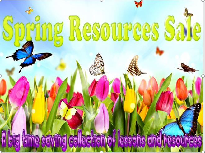 Spring Resources Sale