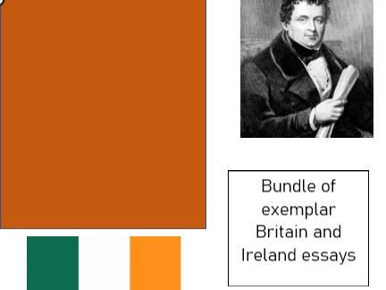 Bundle :A-Level History - Ireland essays