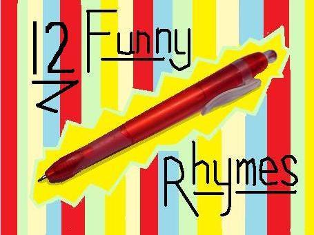 12 Funny Rhymes