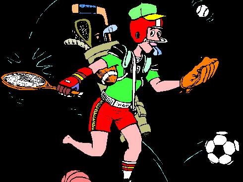 Les sports et les passe-temps