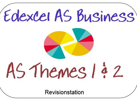 Edexcel AS business (new spec)