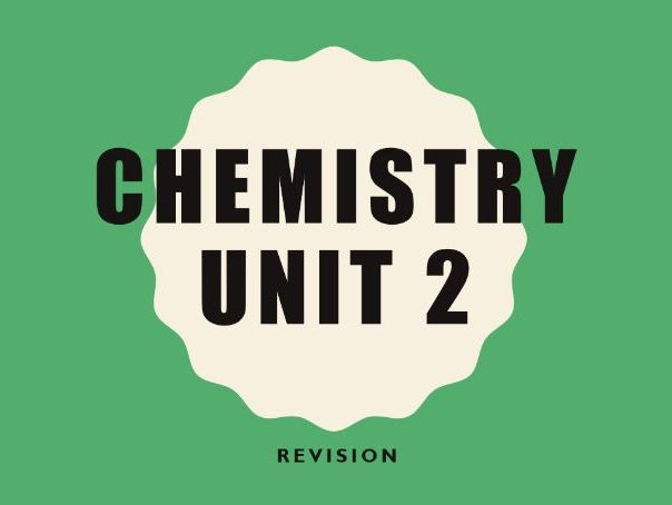 WJEC C2 Revision PowerPoint