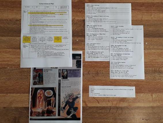 Whole Class Comprehension: 5 Complete Lessons (Set 1)