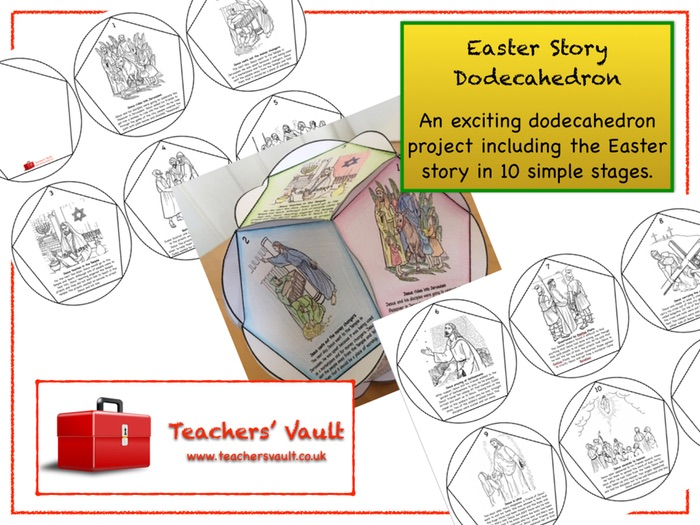 Easter Story Dodecahedron Project