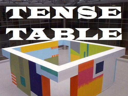 TENSE TABLE