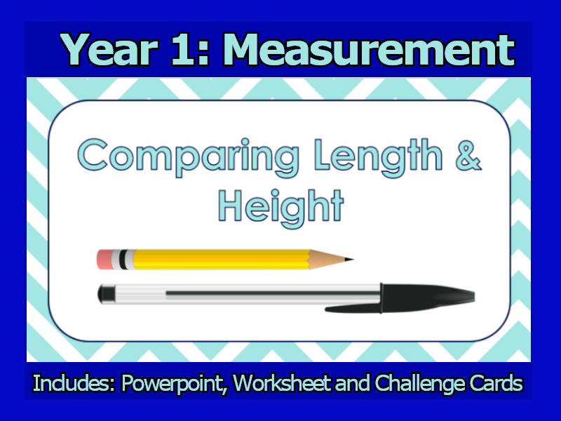 Comparing Lengths and Heights - Year 1 - Maths Lesson