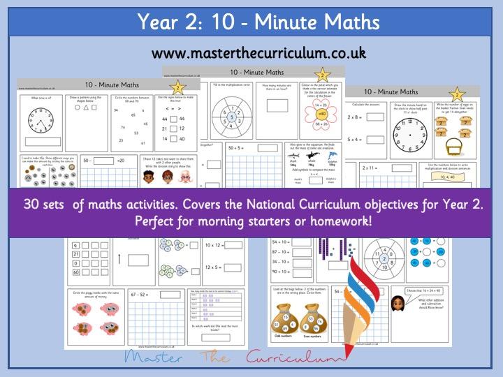 Year 2 – Ten-Minute Maths