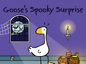 Halloween and 'Goose's Spooky Surprise' by Laura Wall KS1 activites
