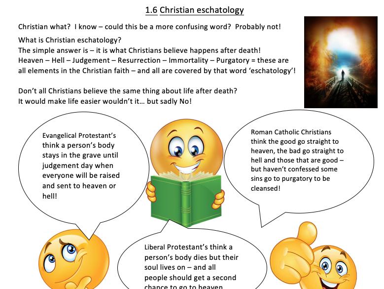 GCSE RS Foundation Revision Christian Beliefs