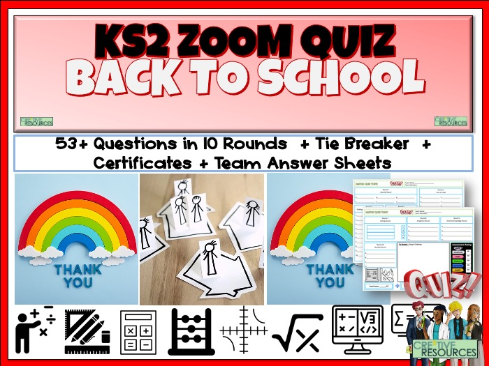 KS2 Online Learning Zoom Quiz