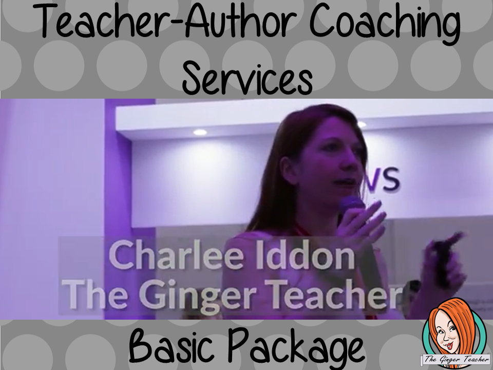 Teacher-Author Basic Coaching Package