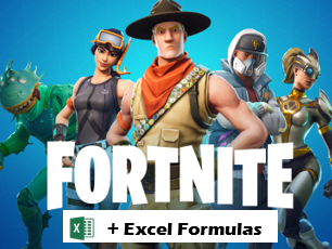 Fortnite Trackers, Excel Formulas and Epic Games Business Study