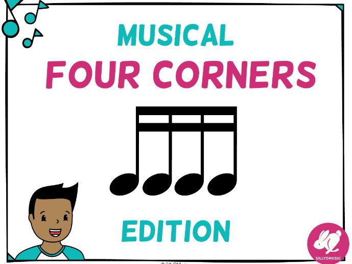 Musical Four Corners, 16th Note Rhythms