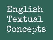 Eng Textual Concepts Classroom Posters