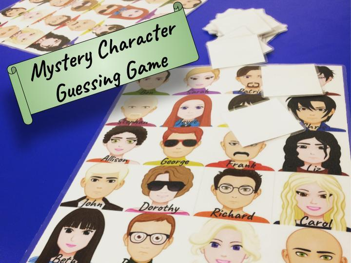 Mystery Character Guessing Game (Physical Descriptions - ESL)