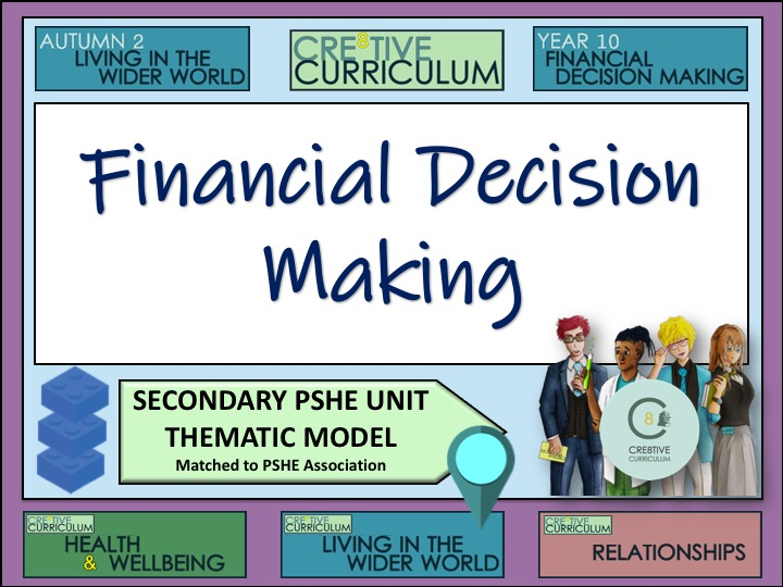 Thematic PSHE Financial Decision Making - PSHE Programme Builder