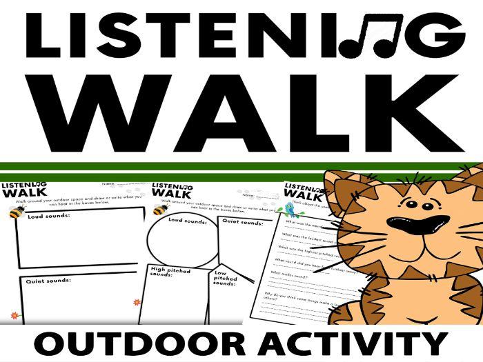 Listening Walk: Outdoor Sound Activity