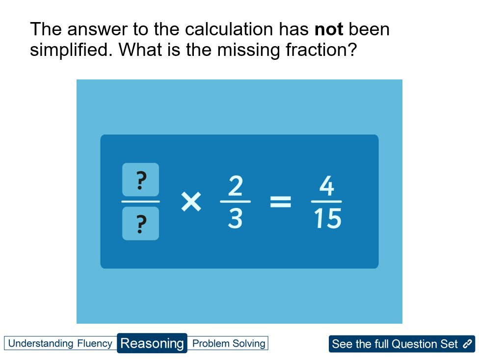 simplest form questions  Y12 Fractions: multiply & simplest form by ...