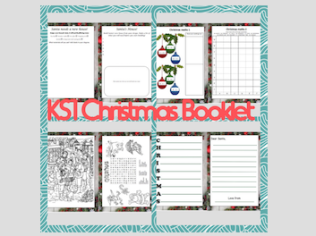 KS1 Christmas Activity Booklet (Plus adapted Winter Jehovah Witness Booklet)