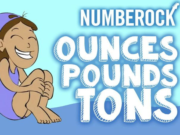 Ounces, Pounds Tons: Customary Measurements KS2 Song