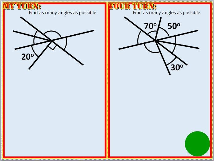 Basic Angle Facts Lesson
