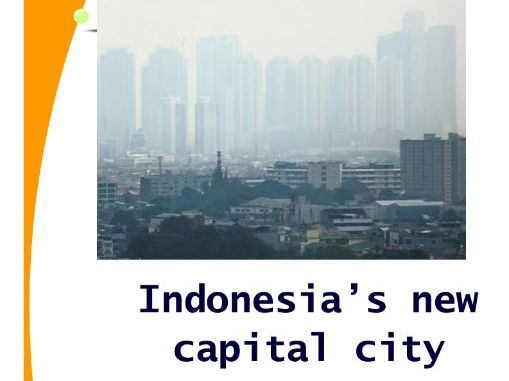 Indonesia's new capital city