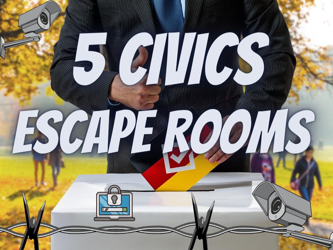 GCSE Citizenship Escape rooms
