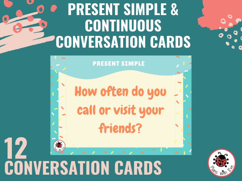 ESL Conversation - Present Simple and Present Continuous