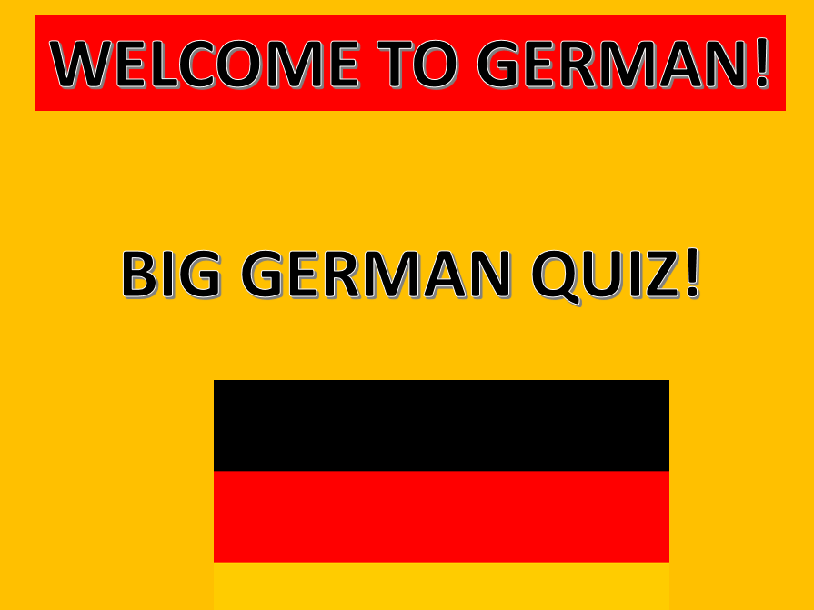 Introduction to German Quiz with answers and facts