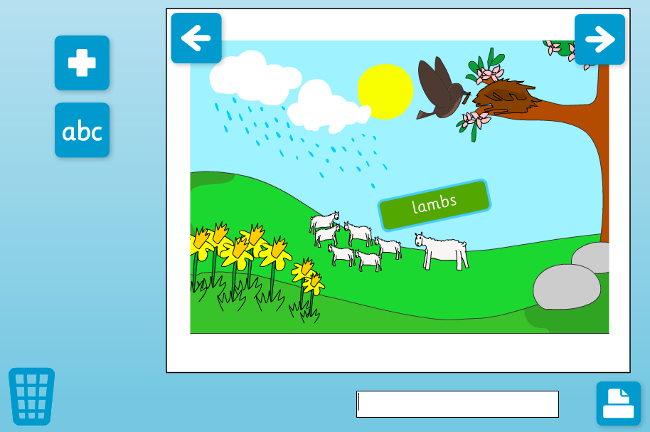 Weather Words Interactive Activity - KS1 Literacy