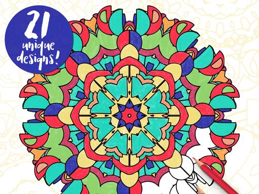 Mandala Coloring Book – Mandala-Rama #1