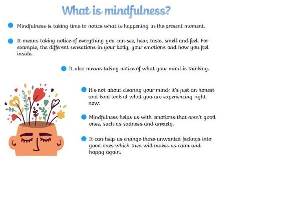 Mindfulness Poster