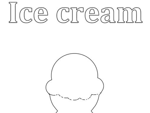 Ice cream colouring