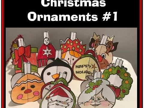 Christmas Crafts - Christmas Ornaments #1
