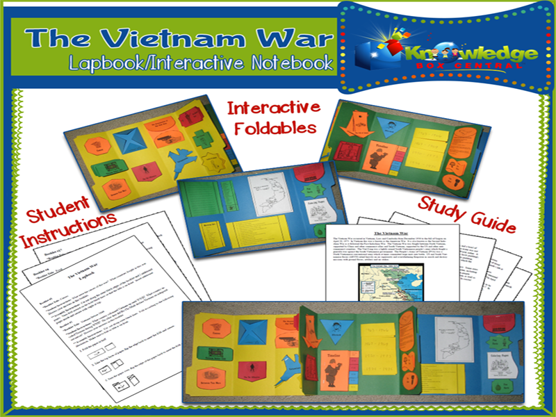 Vietnam War Lapbook