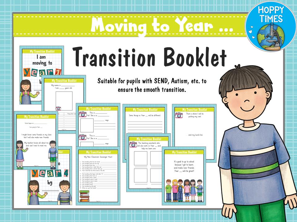 Transition Booklet  ( SEN, Autism)