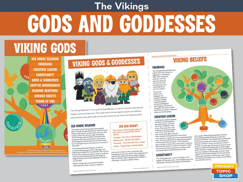 Viking Gods and Goddesses