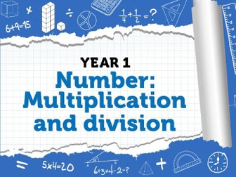 Maths Planning - Multiplication and Division - Week 3 White Rose - Summer 1 - Arrays and Sharing