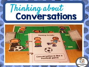 Conversation Skills - Conversation is like a Football game - Thinking Socially
