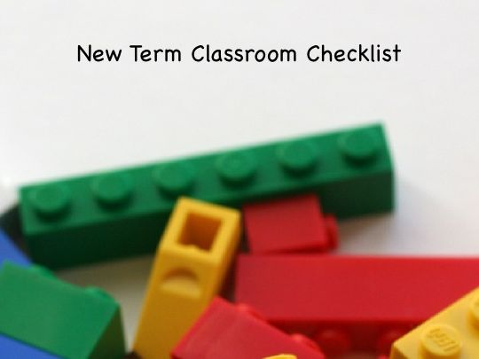 Classroom organization - New Term Checklist for Primary Teachers