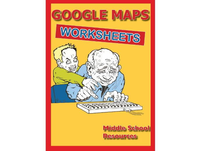 Google Maps Activity Sheets**UPDATED**