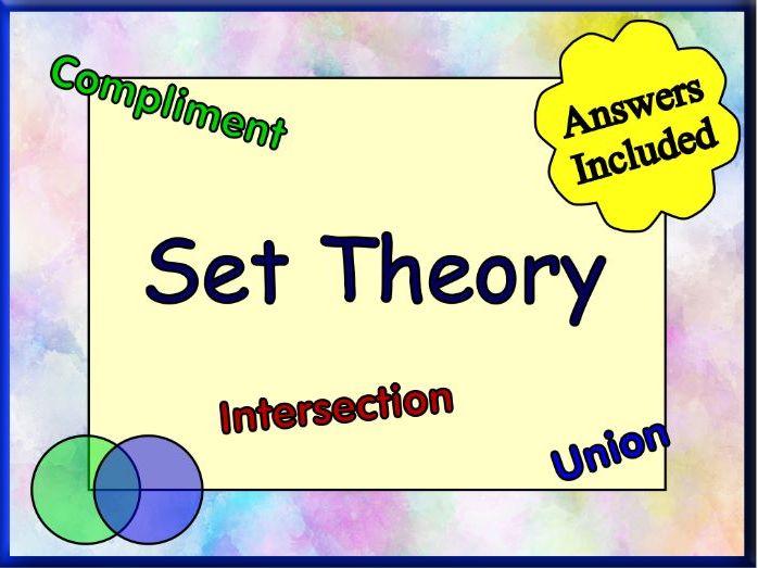 Introducing Set Theory