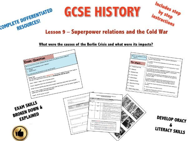 Edexcel Superpower Relations & Cold War L9 What was the Berlin Crisis & what were its impacts?